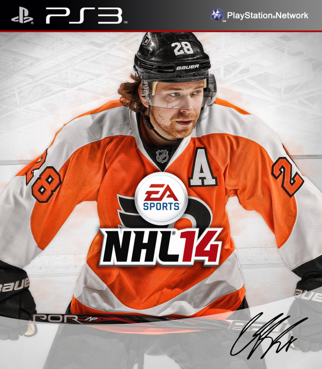NHL 14 PS3 Claude Giroux