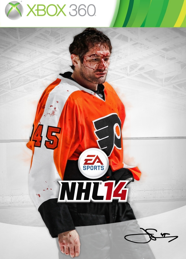 NHL 14 X360 Jody Shelley