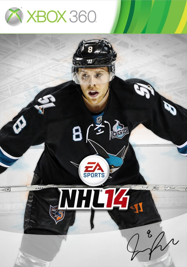 NHL 14 X360 Joe Pavelski