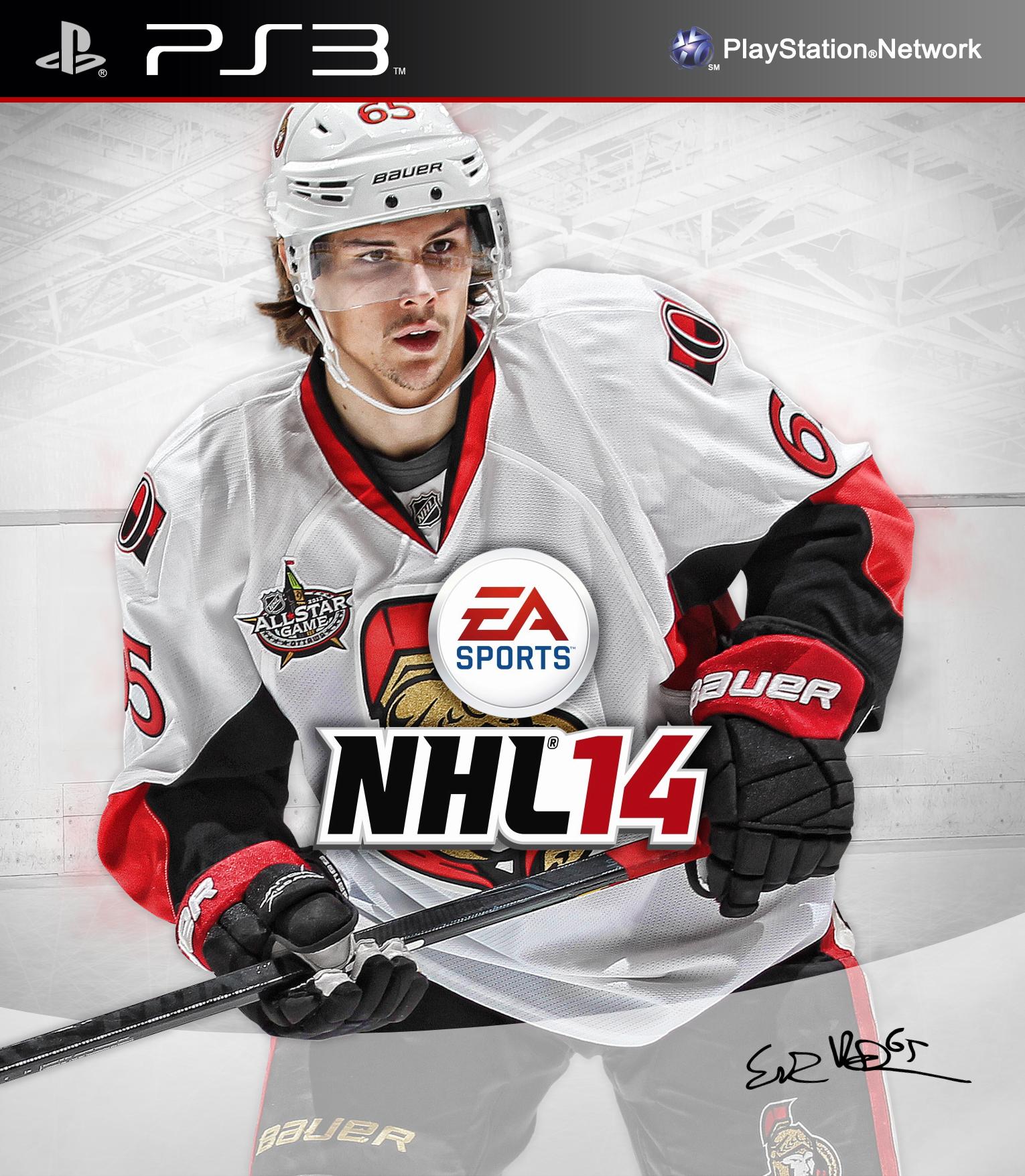 EA NHL 14 Custom Covers – PS3 | Turris, the Goal  Ottawa, the Win