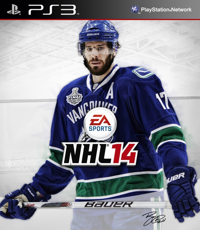 NHL 14 PS3 Ryan Kesler