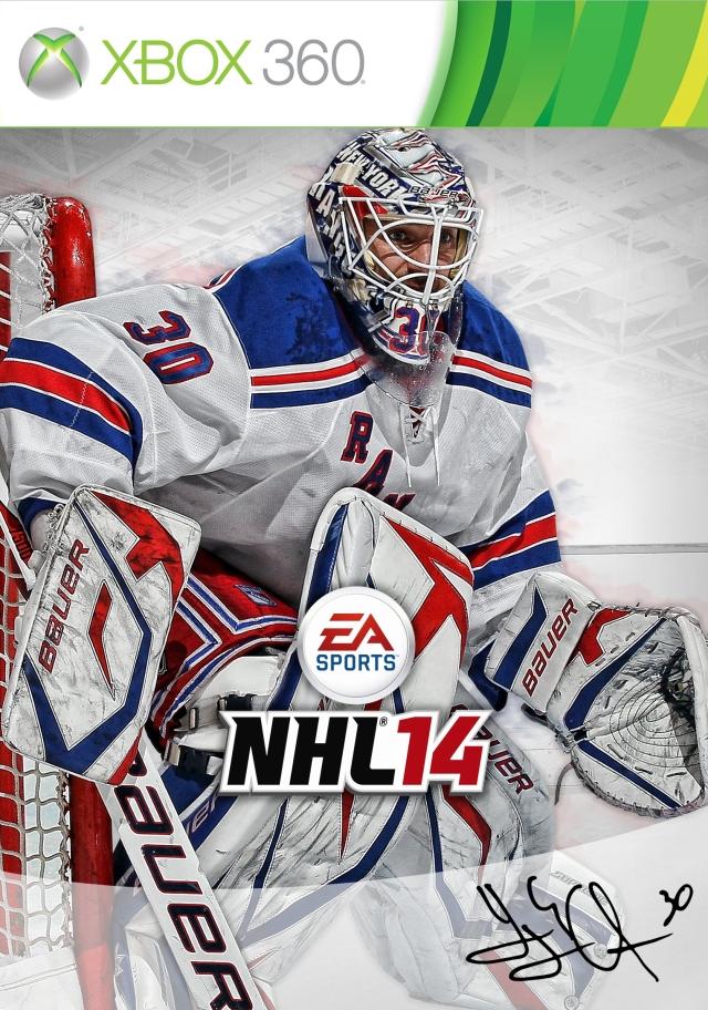 NHL 14 X360 Henrik Lundqvist