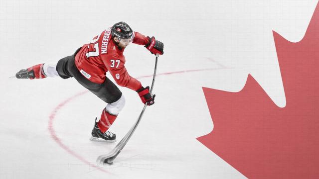 Team Canada Bergeron