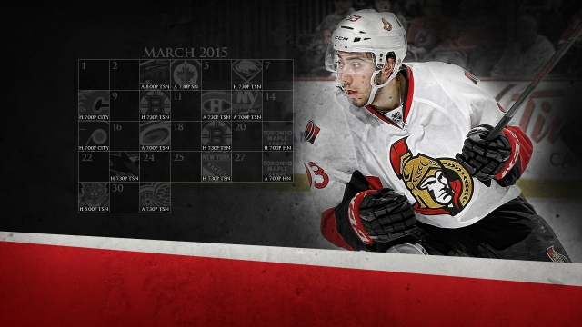 2015-03 Senators Calendar Wallpaper